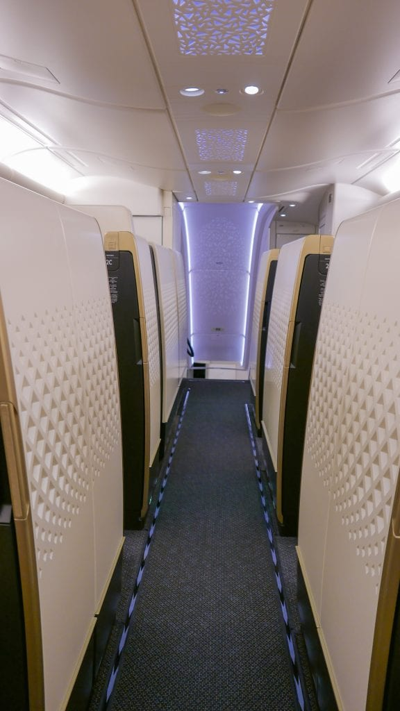 EY APTS 1 576x1024 - SECOND REVIEW - Etihad : First Class Apartments - Abu Dhabi AUH to London LHR (A380)