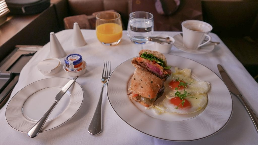 EY APTS 7 1024x576 - SECOND REVIEW - Etihad : First Class Apartments - Abu Dhabi AUH to London LHR (A380)