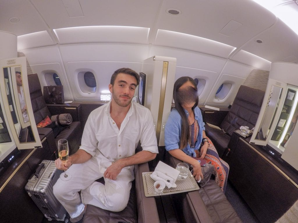 EY APTS 99 1024x768 - SECOND REVIEW - Etihad : First Class Apartments - Abu Dhabi AUH to London LHR (A380)