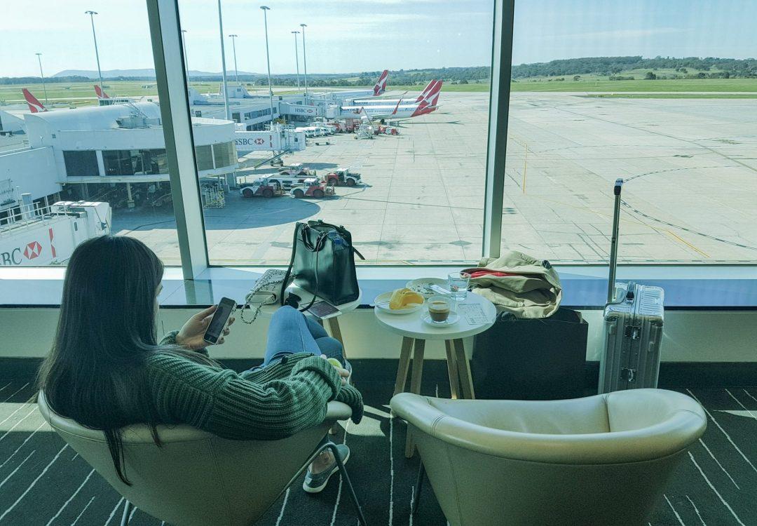 MEL J domestic lounge QF 17 1080x750 - REVIEW - Qantas Business Lounge - Melbourne (Domestic T1)