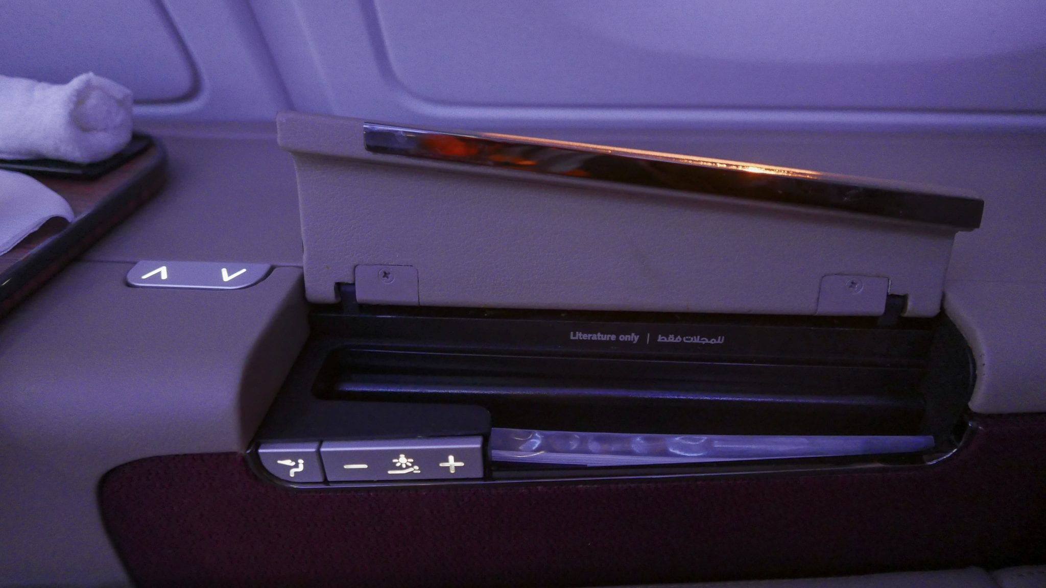 QR F SYD DOH 11 - REVIEW - Qatar : First Class - Sydney SYD to Doha DOH (A380)