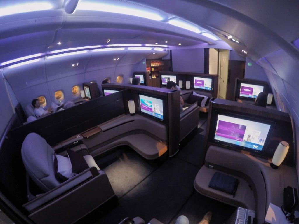 QR F SYD DOH 26 1024x768 - REVIEW - Qatar : First Class - Sydney SYD to Doha DOH (A380)
