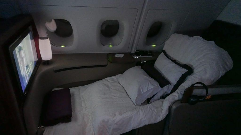 QR F SYD DOH 30 1024x576 - REVIEW - Qatar : First Class - Sydney SYD to Doha DOH (A380)