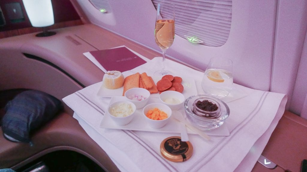 QR F SYD DOH 41 1024x576 - REVIEW - Qatar : First Class - Sydney SYD to Doha DOH (A380)