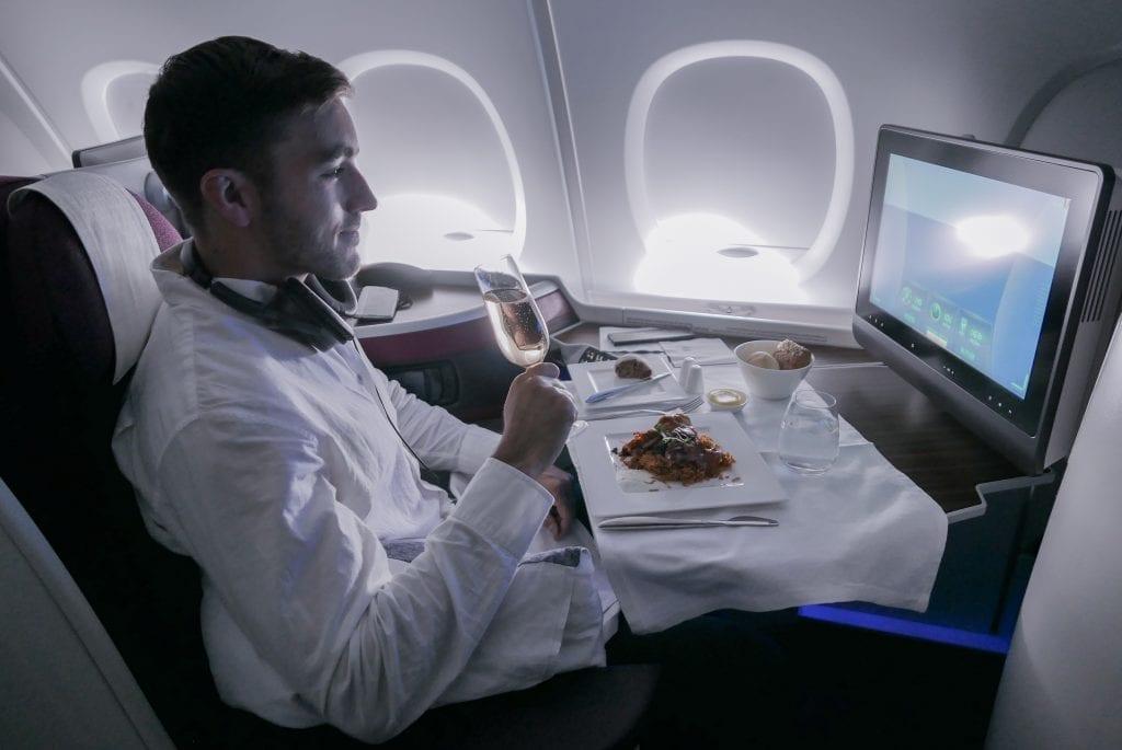 QRJ DOH SYD 26 1024x685 - REVIEW - Qatar Airways : Business Class - Doha DOH to Sydney SYD (A380)