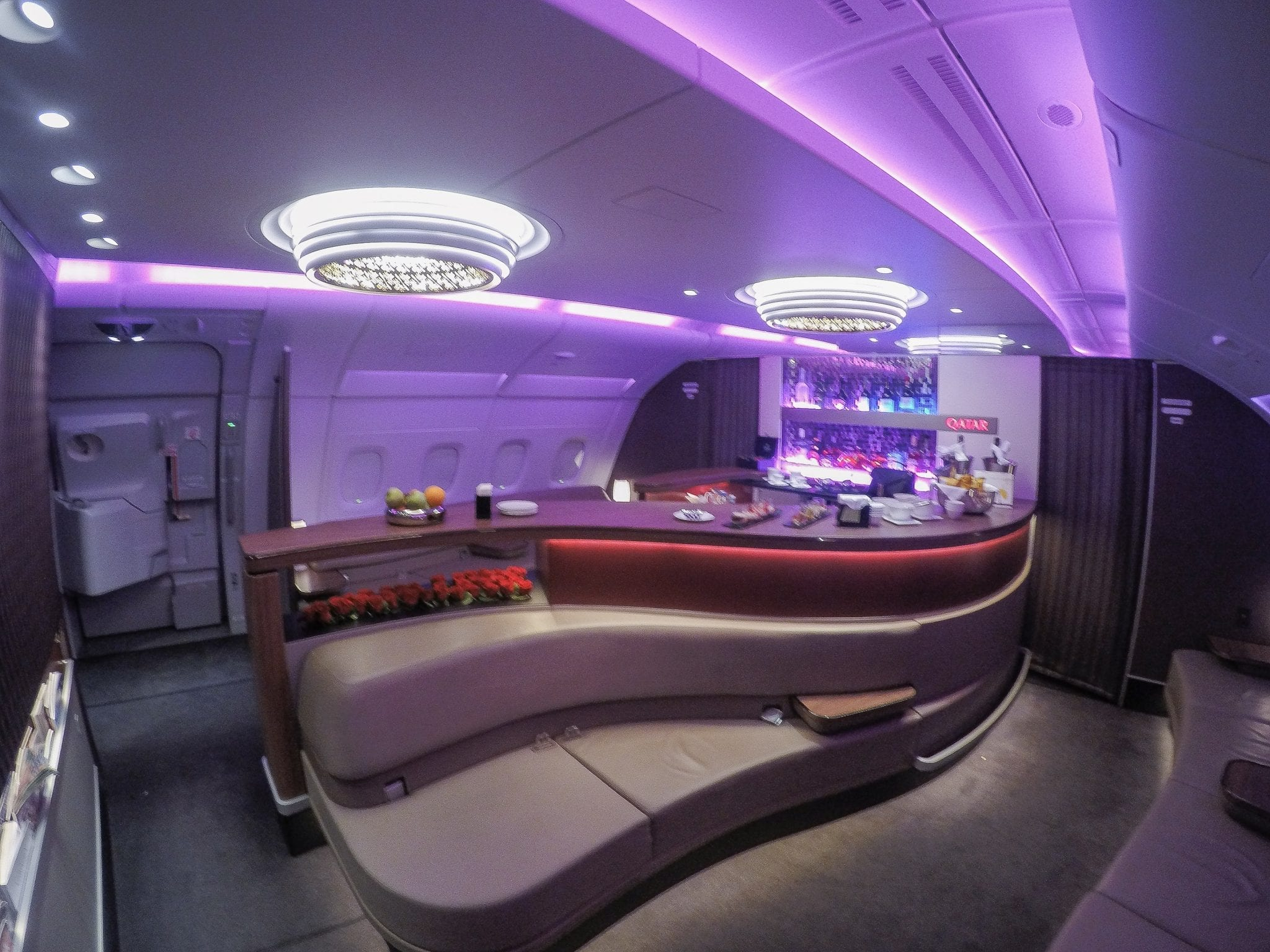 QRJ DOH SYD 27 - REVIEW - Qatar Airways : Business Class - Doha DOH to Sydney SYD (A380)