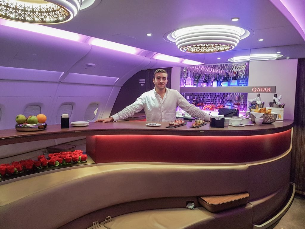 QRJ DOH SYD 29 1024x768 - REVIEW - Qatar Airways : Business Class - Doha DOH to Sydney SYD (A380)