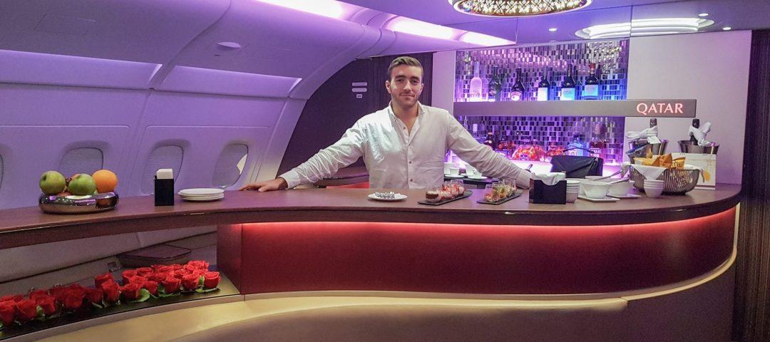 QRJ DOH SYD 29 1080x480 - REVIEW - Qatar Airways : Business Class - Doha DOH to Sydney SYD (A380)