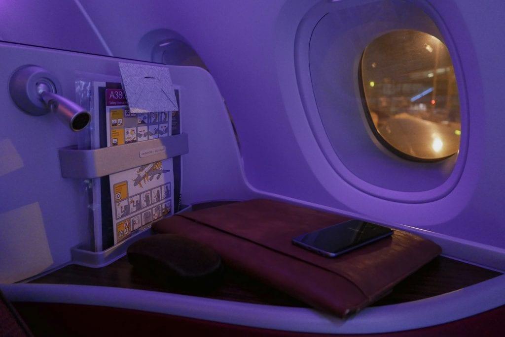 QRJ DOH SYD 8 1024x685 - REVIEW - Qatar Airways : Business Class - Doha DOH to Sydney SYD (A380)