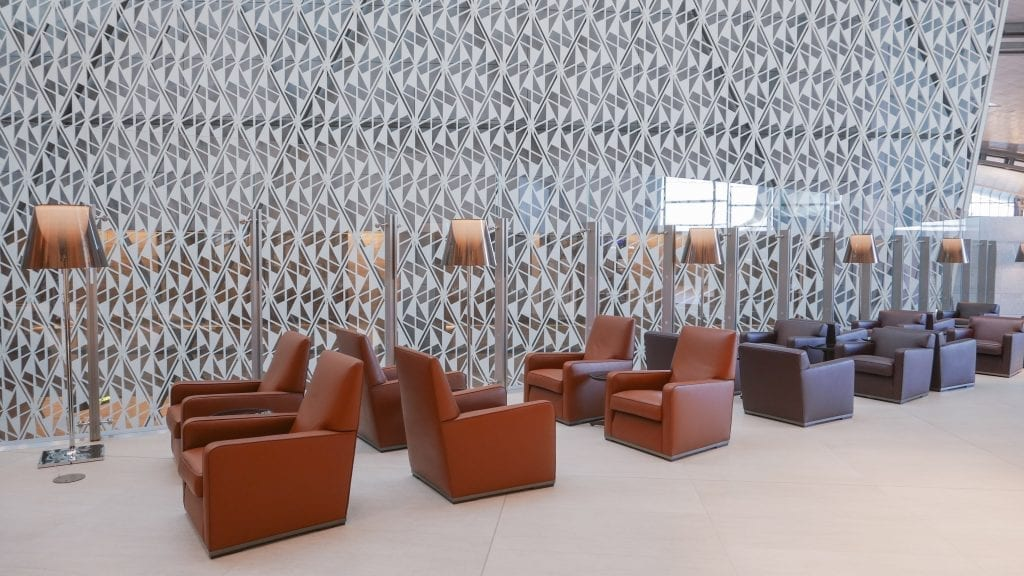 al safwa 12 1024x576 - REVIEW - Qatar Al Safwa First Class Lounge - Doha