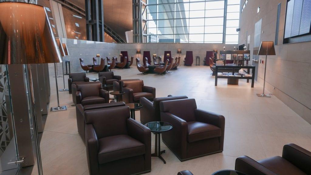 al safwa 13 1024x576 - REVIEW - Qatar Al Safwa First Class Lounge - Doha