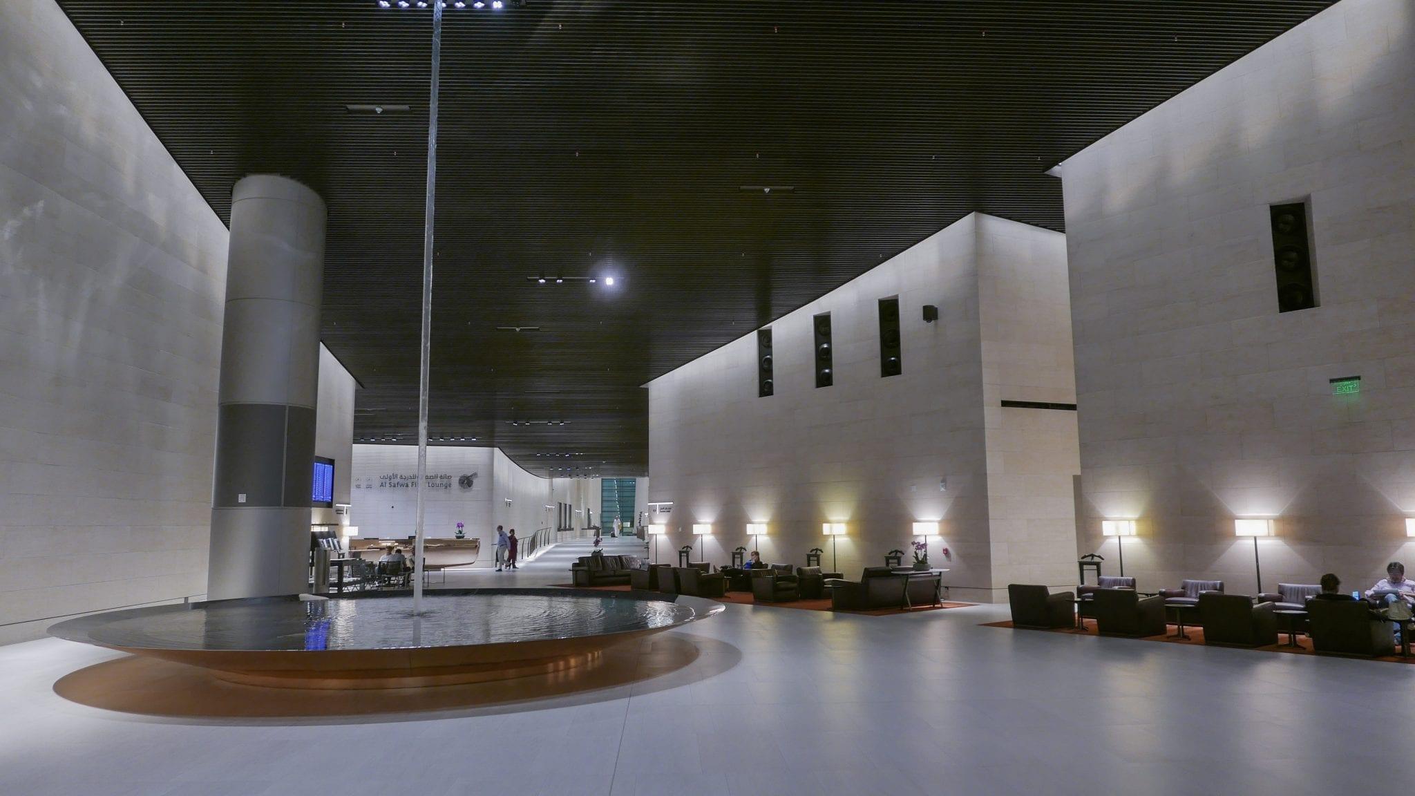 al safwa 2 - REVIEW - Qatar Al Safwa First Class Lounge - Doha