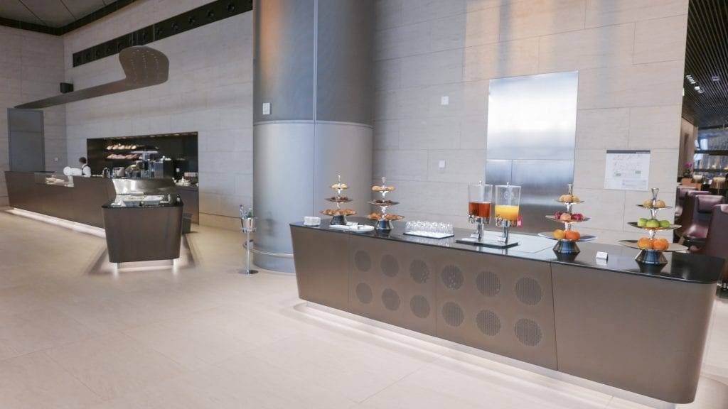 al safwa 25 1024x576 - REVIEW - Qatar Al Safwa First Class Lounge - Doha
