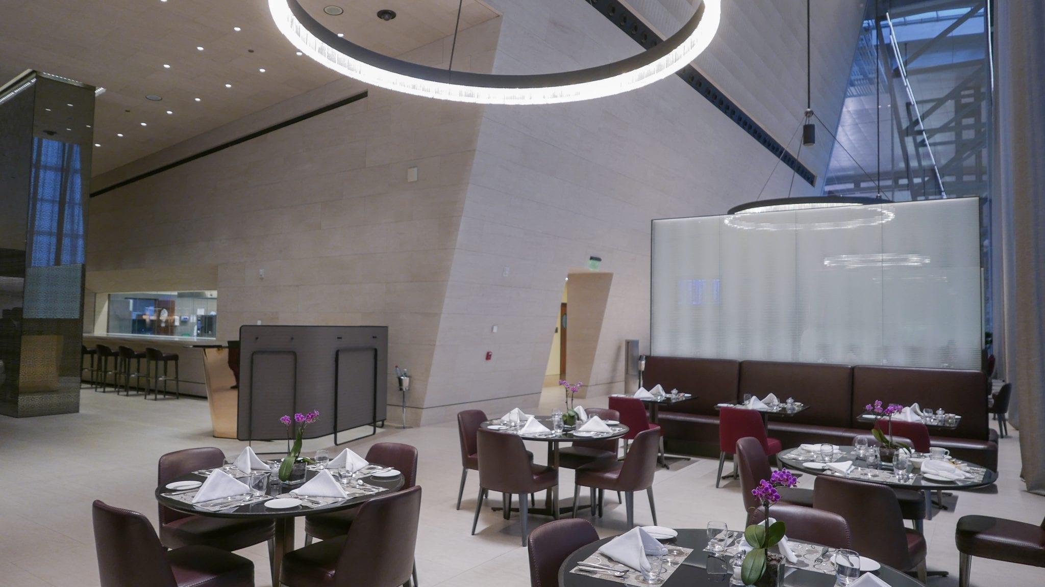 al safwa 7 - REVIEW - Qatar Al Safwa First Class Lounge - Doha