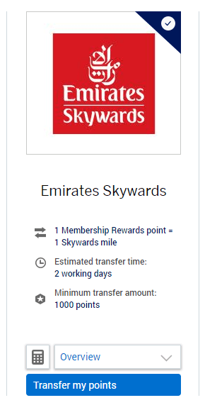 Emirate Travel Partners Membership Rewards - Breaking the Rules: How I booked Emirates 'Gamechanger' First Class