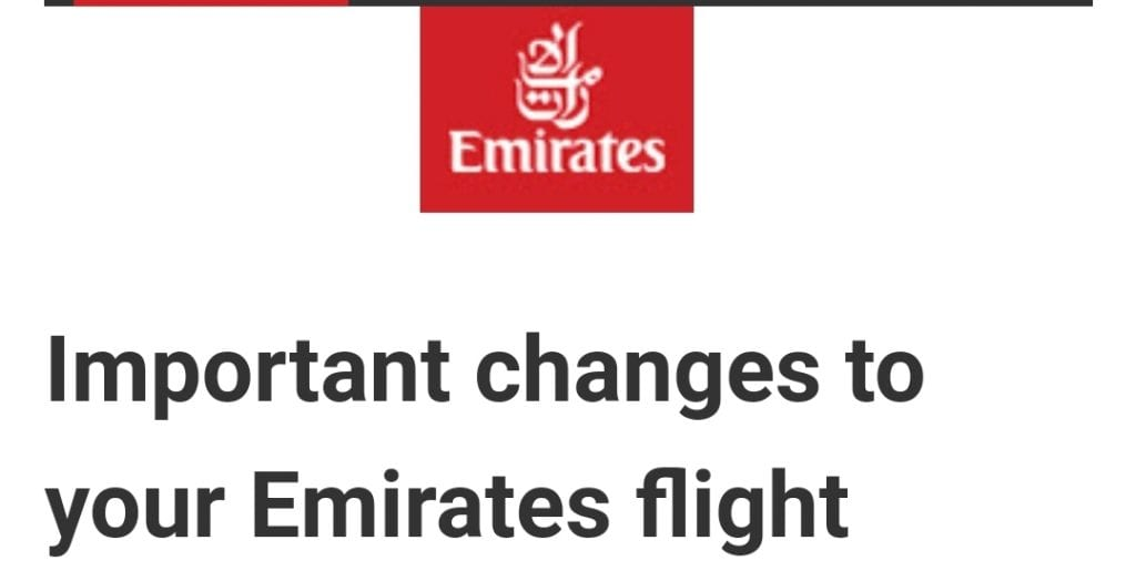 changes to emirates flight 1024x524 - Breaking the Rules: How I booked Emirates 'Gamechanger' First Class