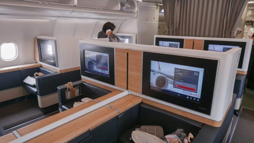 LX F A330 YUL 1 880x495 - First Class & Business Class flight reviews