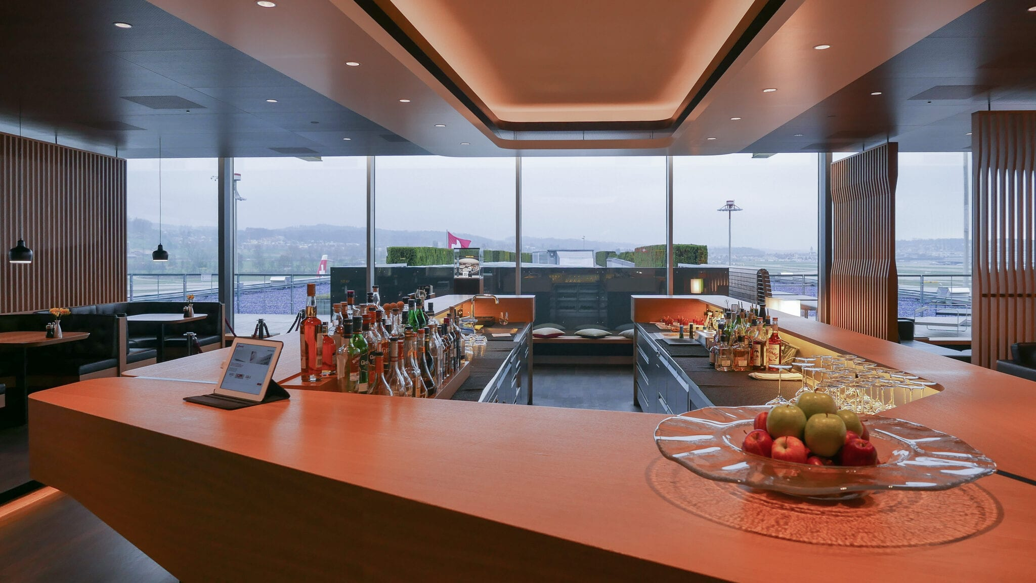 LX F ZRH E gates 10 - REVIEW - SWISS First Class Lounge - Zurich (ZRH E-Gates)