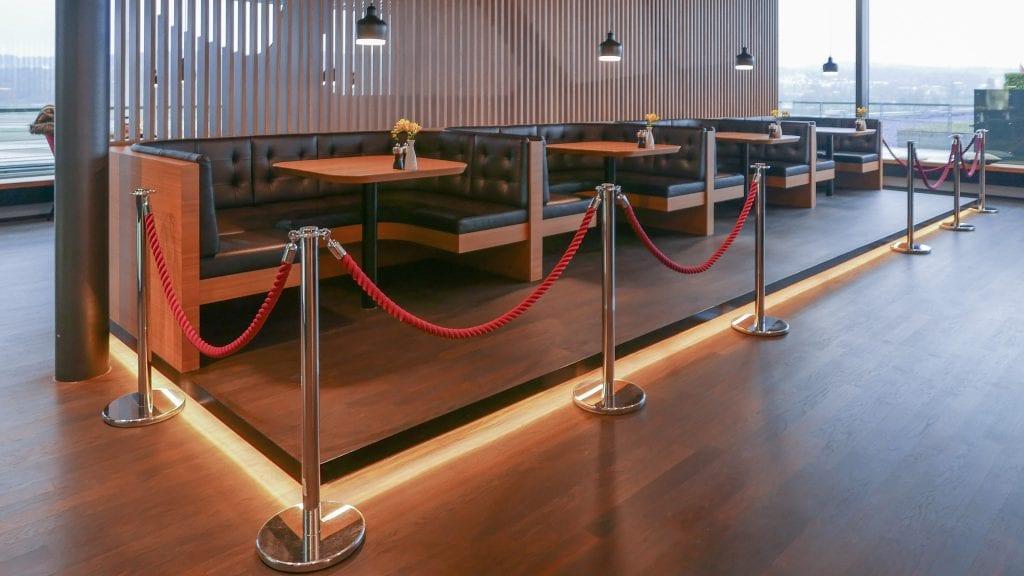 LX F ZRH E gates 11 1024x576 - REVIEW - SWISS First Class Lounge - Zurich (ZRH E-Gates)