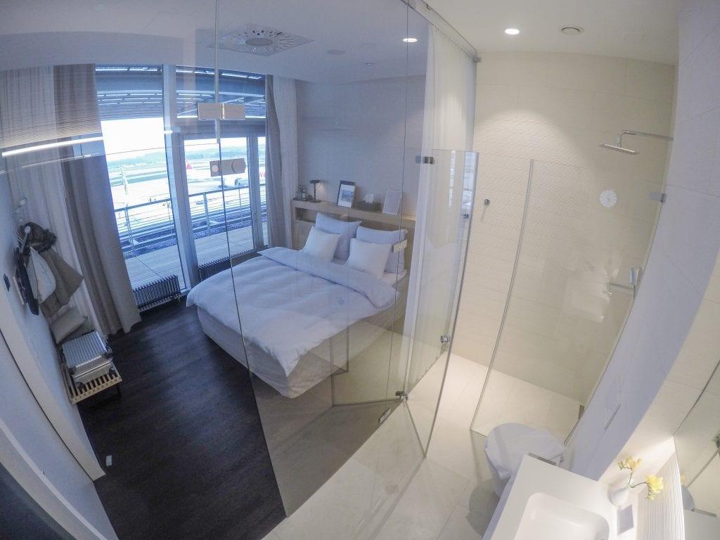 LX F ZRH E gates 37 1024x768 - REVIEW - SWISS First Class Lounge - Zurich (ZRH E-Gates)