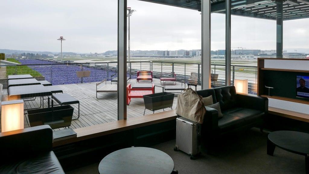 LX F ZRH E gates 60 1024x576 - REVIEW - SWISS First Class Lounge - Zurich (ZRH E-Gates)