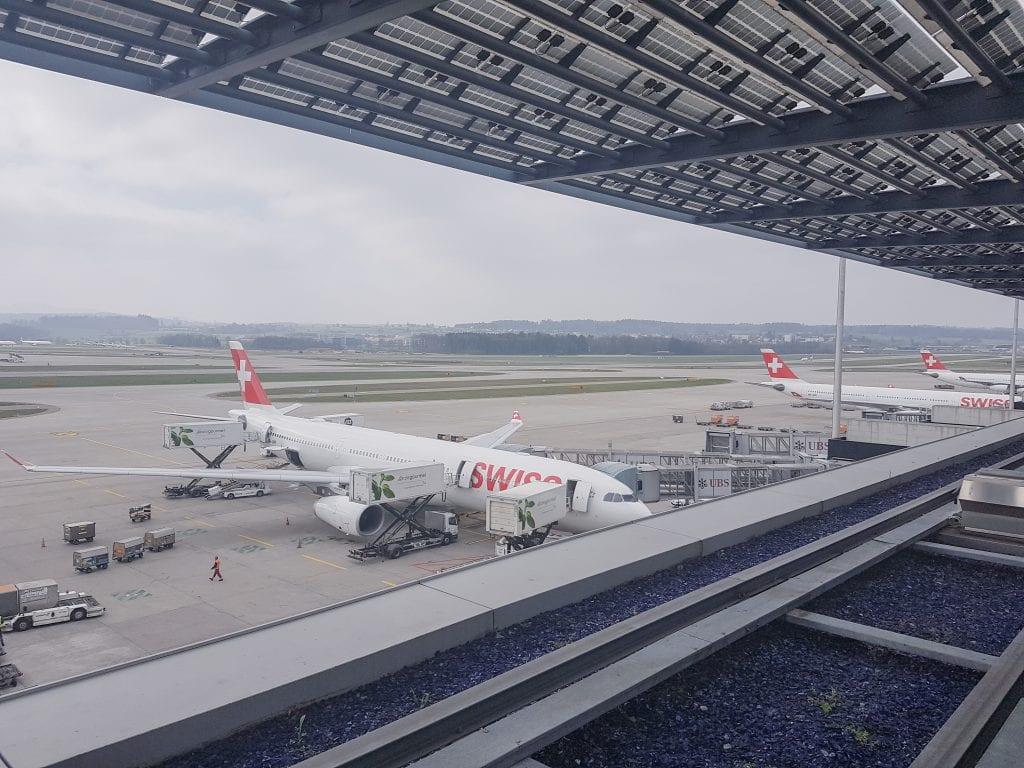 LX F ZRH E gates 63 1024x768 - REVIEW - SWISS First Class Lounge - Zurich (ZRH E-Gates)