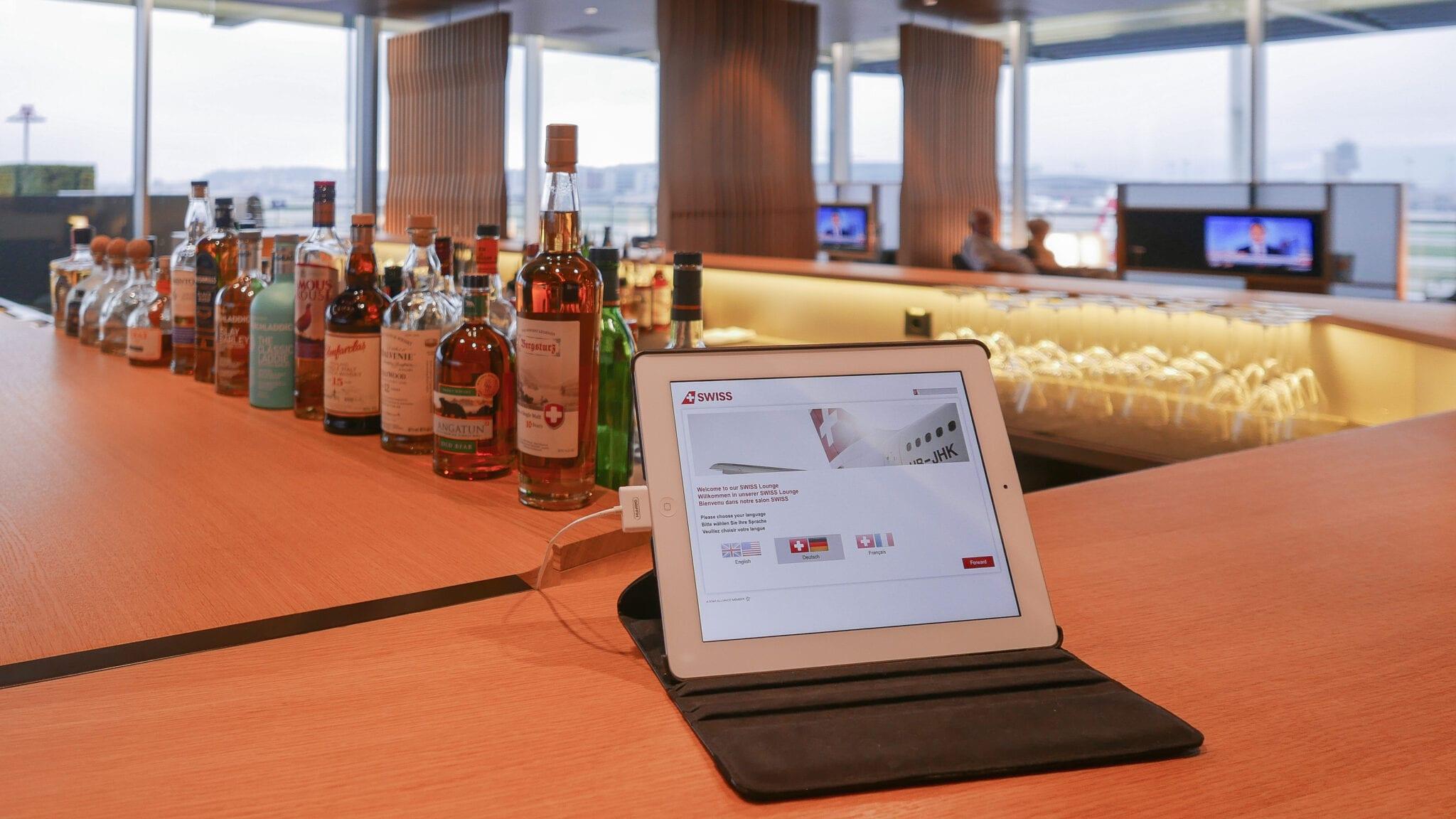 LX F ZRH E gates 8 - REVIEW - SWISS First Class Lounge - Zurich (ZRH E-Gates)