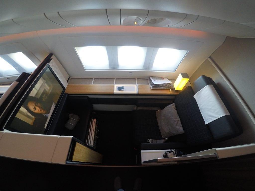LX F 777 YUL ZRH 1 1024x768 - REVIEW - SWISS : First Class - Montreal YUL to Zurich ZRH (B777)
