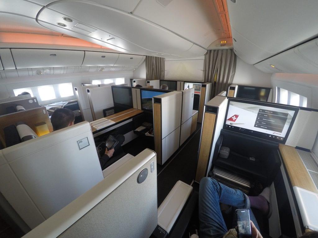 LX F 777 YUL ZRH 2 1024x768 - REVIEW - SWISS : First Class - Montreal YUL to Zurich ZRH (B777)