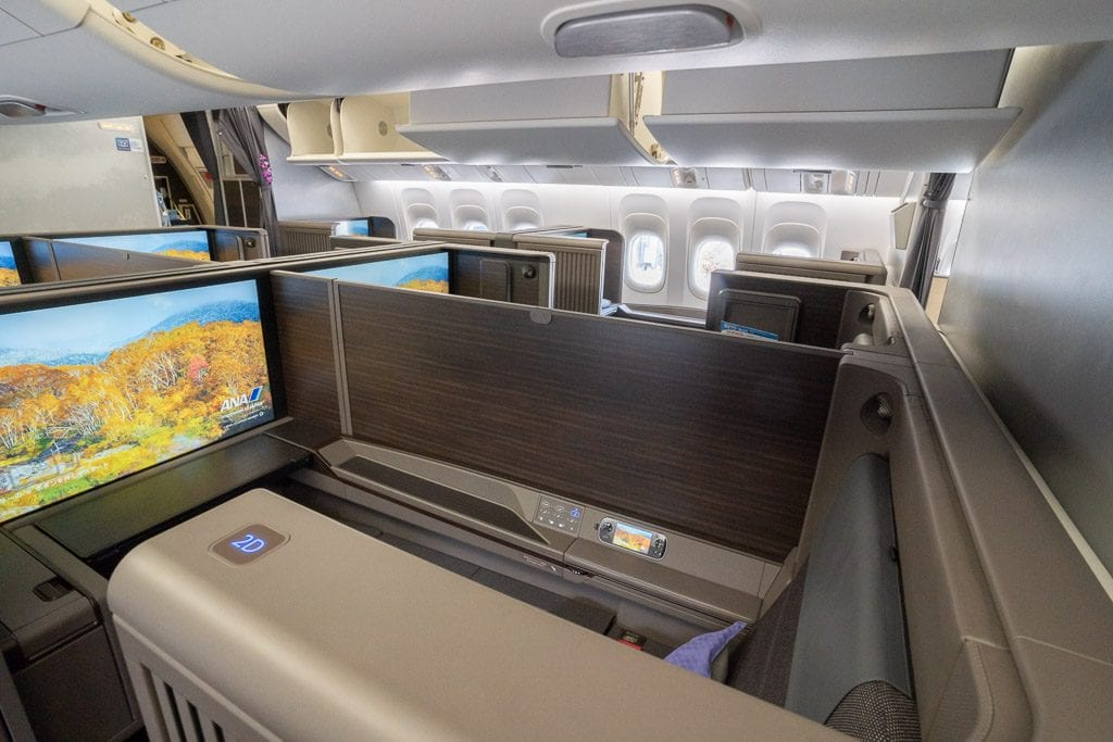 ANA New F 10 1024x683 - WORLD EXCLUSIVE REVIEW - ANA : New First Class Suite - Tokyo HND to London LHR (B777)