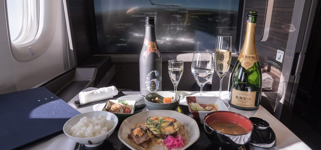 kaiseki ANA New First Class suite 777 jarvis marcos