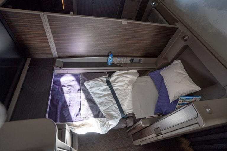 ANA New F 68 768x512 - WORLD EXCLUSIVE REVIEW - ANA : New First Class Suite - Tokyo HND to London LHR (B777)