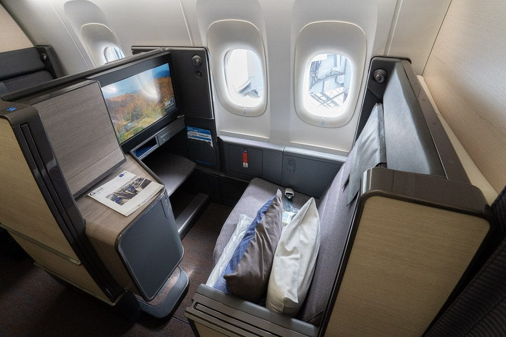 ANA New F 7 1024x683 - WORLD EXCLUSIVE REVIEW - ANA : New First Class Suite - Tokyo HND to London LHR (B777)