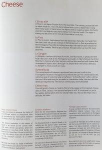 lx f menu yul zrh 3 204x300 - REVIEW - SWISS : First Class - Montreal YUL to Zurich ZRH (B777)