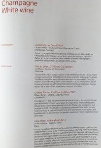 lx f menu yul zrh 4 205x300 - REVIEW - SWISS : First Class - Montreal YUL to Zurich ZRH (B777)