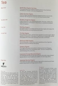 lx f menu yul zrh 6 204x300 - REVIEW - SWISS : First Class - Montreal YUL to Zurich ZRH (B777)