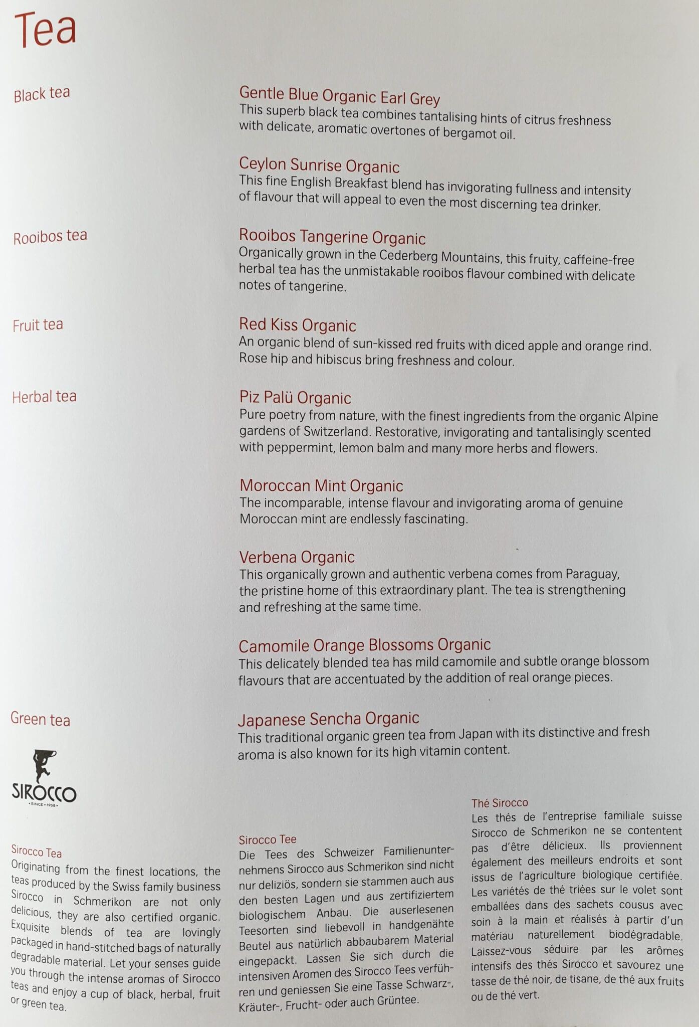 lx f menu yul zrh 6 - REVIEW - SWISS : First Class - Montreal YUL to Zurich ZRH (B777)