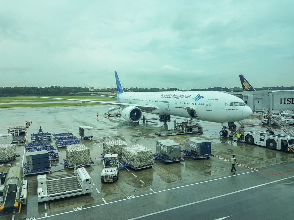 GA F CGK LHR 1 1024x768 - REVIEW - Garuda Indonesia : First Class - Jakarta CGK to London LHR (B777)
