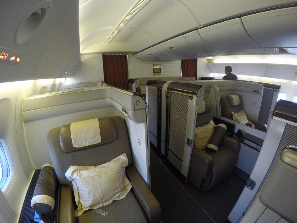 GA F CGK LHR 3 1024x768 - REVIEW - Garuda Indonesia : First Class - Jakarta CGK to London LHR (B777)