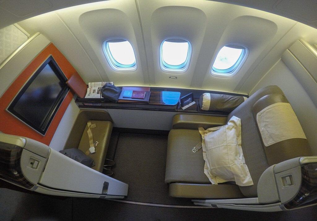 GA F CGK LHR 5 1024x716 - REVIEW - Garuda Indonesia : First Class - Jakarta CGK to London LHR (B777)