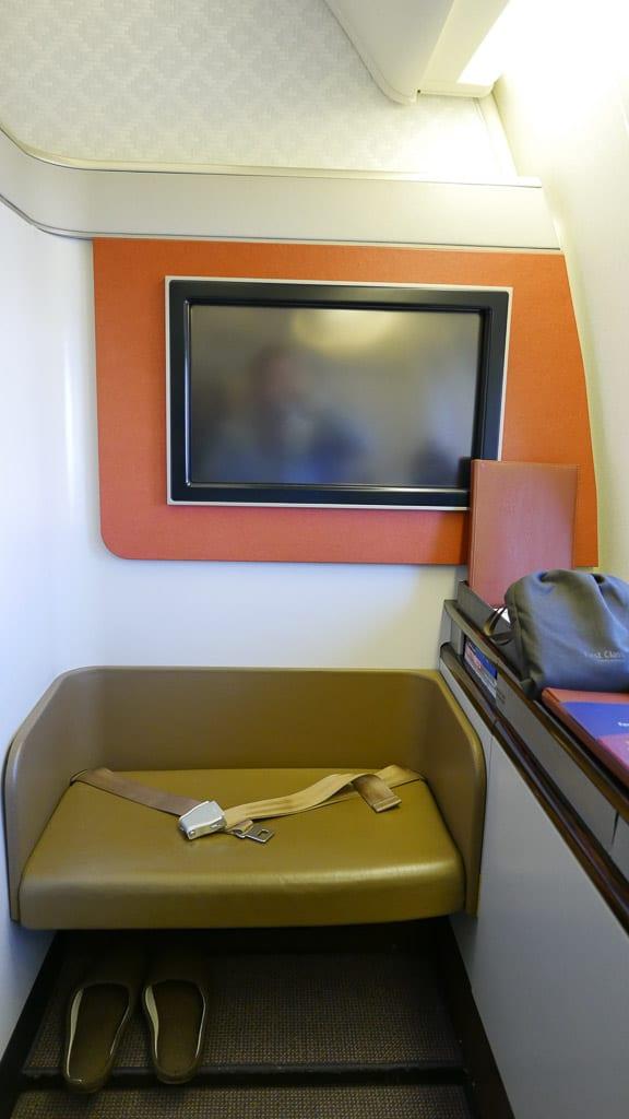 GA F CGK LHR 9 - REVIEW - Garuda Indonesia : First Class - Jakarta CGK to London LHR (B777)