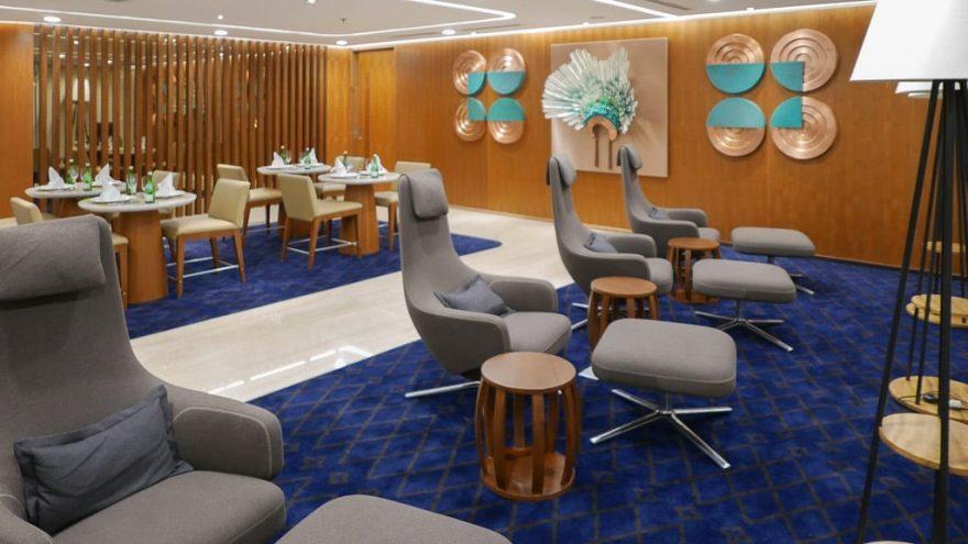 GA F Lounge 3 880x495 - First Class & Business Class flight reviews
