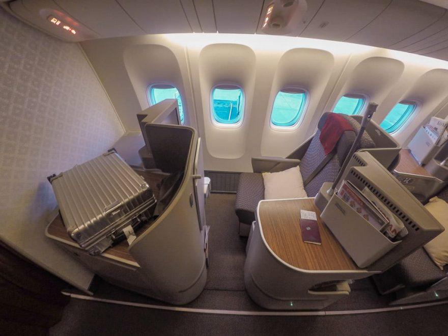 GA J 77W LHR CGK 4 880x660 - First Class & Business Class flight reviews
