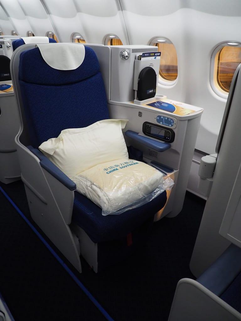 CZ A330 J 3 - REVIEW - China Southern : Business Class - A330 - Guangzhou CAN to Paris CDG