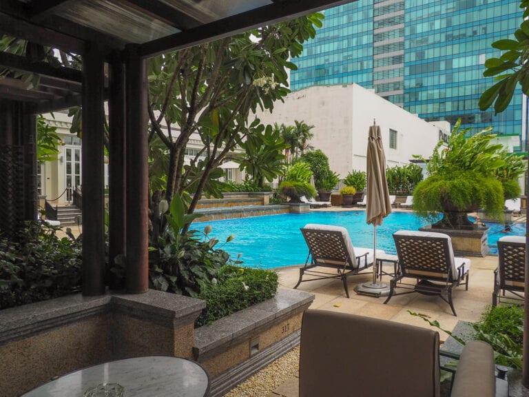 PH Saigon 36 768x576 - REVIEW - Park Hyatt Saigon : Deluxe King (w. Pool Access)