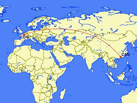 cdg can - REVIEW - China Southern : Business Class - A330 - Guangzhou CAN to Paris CDG