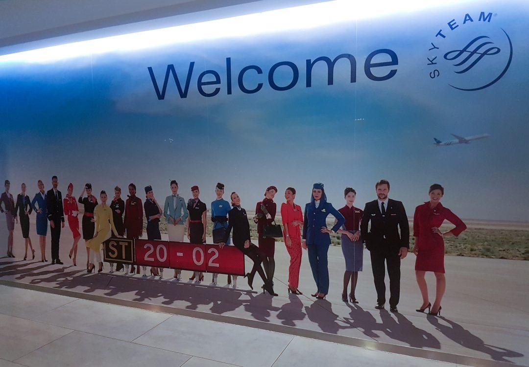 lhr skyteam lounge 28 1080x750 - REVIEW - Skyteam Lounge : London Heathrow T4