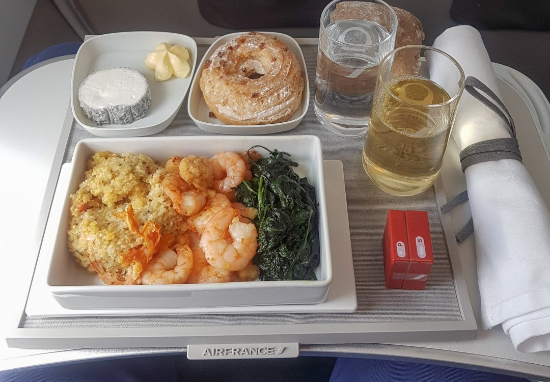 air france business meal
