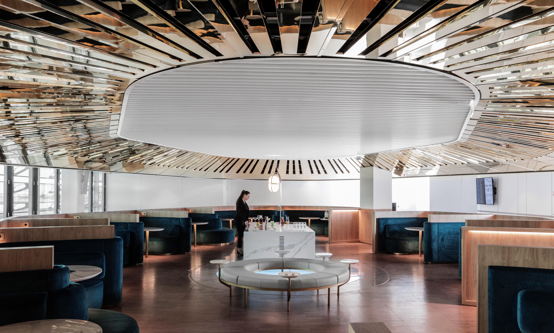 CDG 68899 original - REVIEW - Air France Business Class Lounge : Paris CDG - Terminal 2E - Hall L