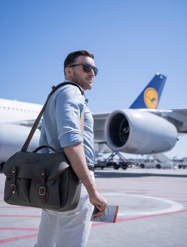 LH tarmac 1 scaled e1613908315656 768x1016 - REVIEW - Lufthansa First Class Terminal - Frankfurt (FRA)